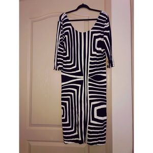 Black & White Body con dress!
